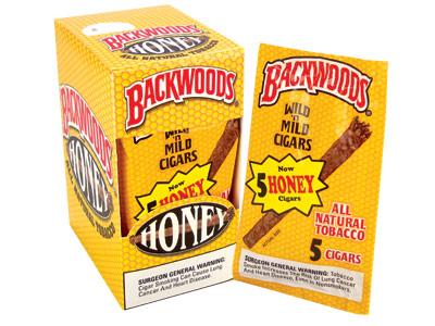 Backwoods Honey Cigars 8 5pack