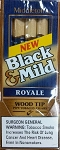 Black & Mild Royale Wood Tip Cigars 10/5PKS