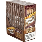Black & Mild Wine Wood Tip Cigars 10/5PKS