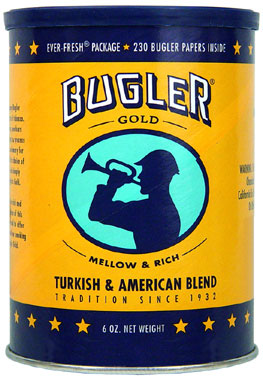 Bugler Roll Your Own Gold Can 6oz