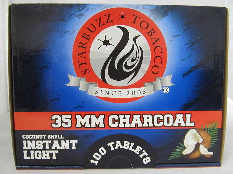 Starbuzz Premium Coconut Instant Light Charcoal 35mm 100 Tablets