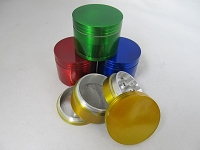 63mm Multi Color 4 Part Grinder