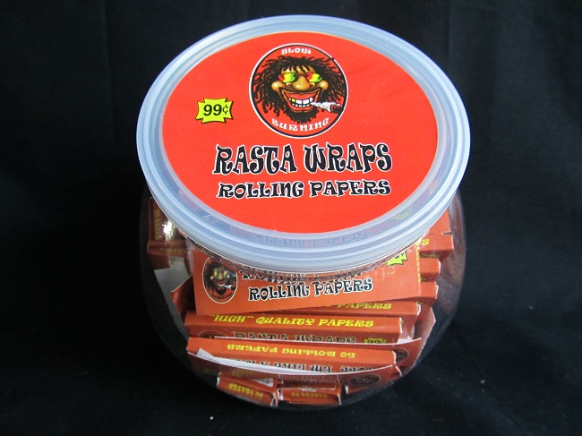 Rasta Wraps Rolling King Size Papers 50 booklets