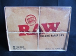 Raw Rolling Paper Tips 50 packs