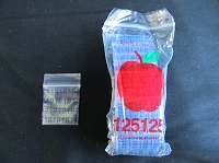 Apple Baggies 1.25/1.25 1000ct
