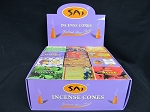 Sai Incense Cones 48ct Display 12 Different Scents