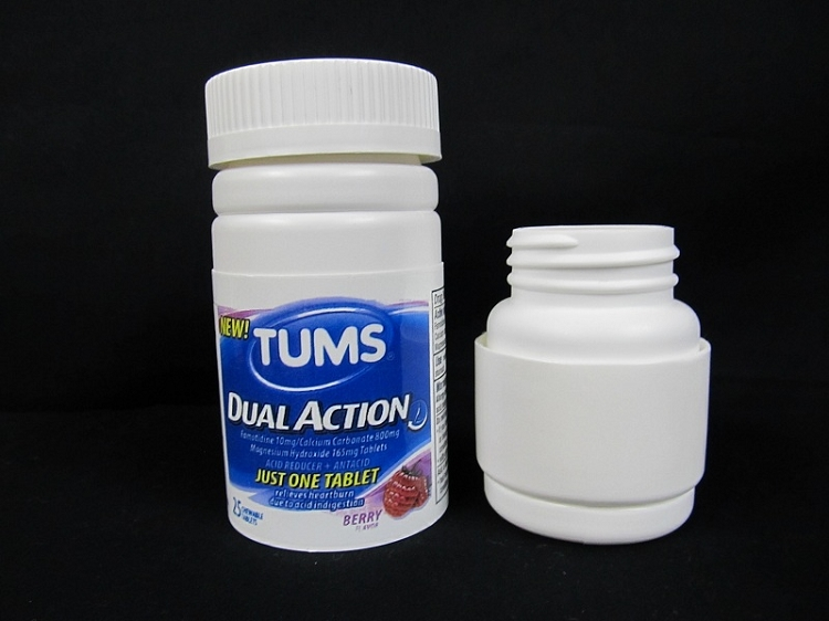 Tums Stash Bottle