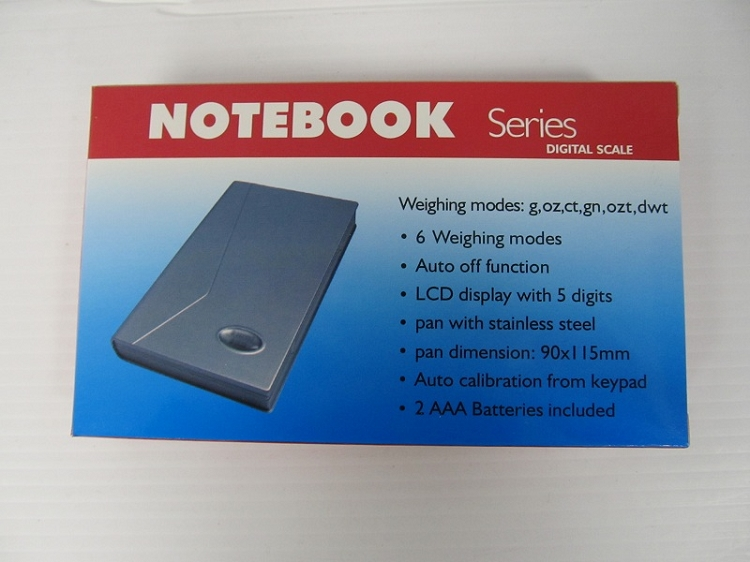 NOTEBOOK Scale 2000G 0.1