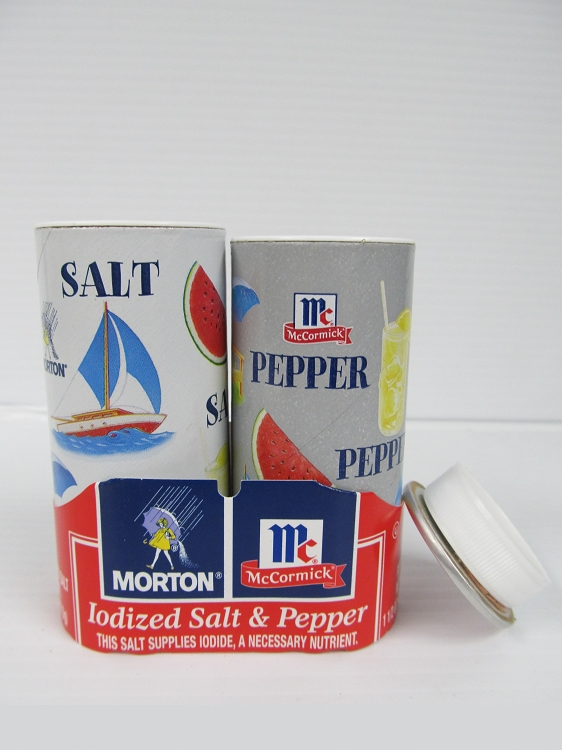 Salt & Pepper Combo Safe Can