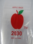 Apple Baggies 2.0X3.0 1000ct