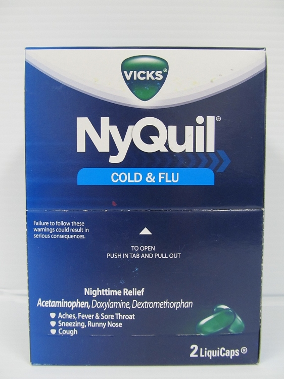 NyQuil 20count 2pack