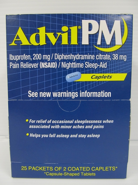Advil PM 25count 2pack