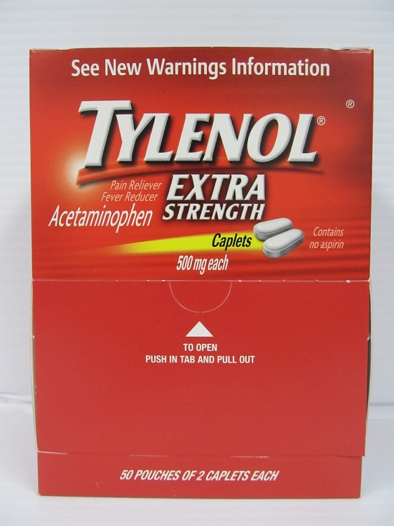Tylenol Extra Strength 25count 2pack