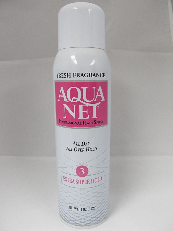 Aqua Net Hair Spray Large Safe Can