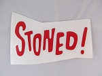 Sticker: STONED
