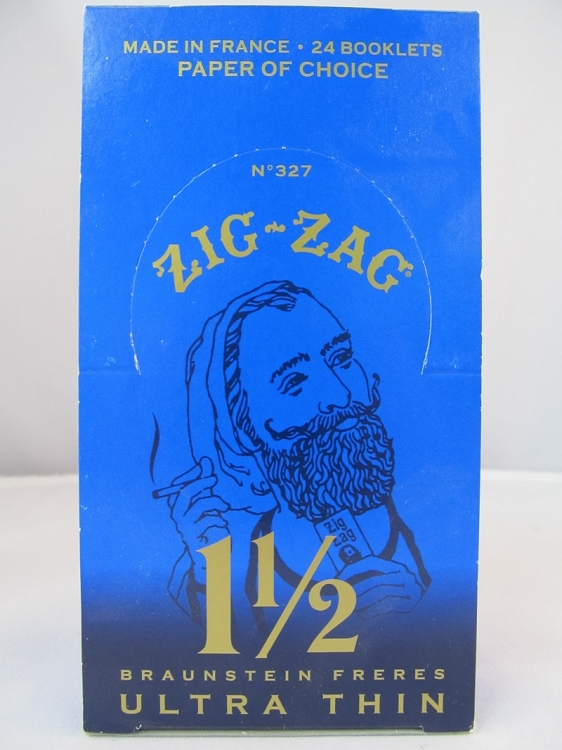 Zig Zag Ultra Thin 1-1/2 Papers 24 booklets