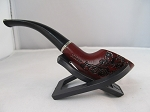 Wood Pipe Style U with Stand