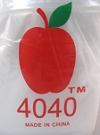 Apple Baggies 4.0X4.0 1000ct