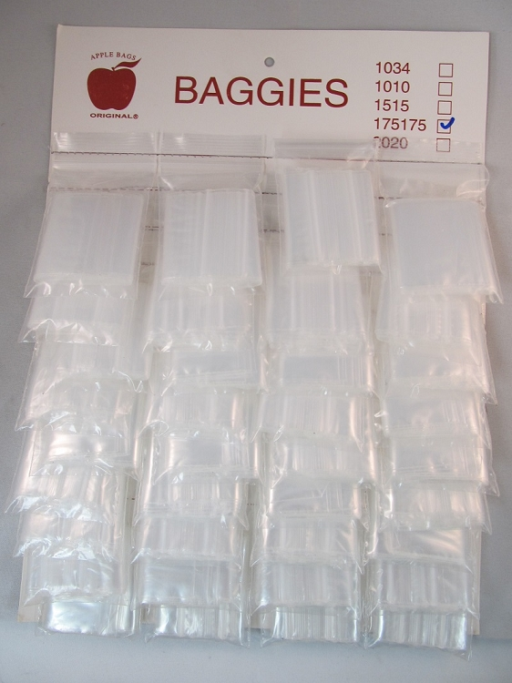 Mini Zip Baggies 1.75X1.75