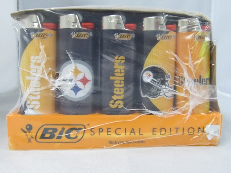 STEELERS Bic Lighter 50ct