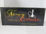 Never Exhale 33mm Round Charcoal 10pk 100pc