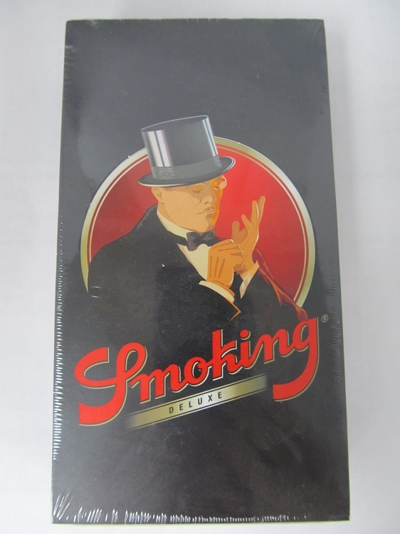 Smoking Brand Black 1-1/4 ROLLING PAPERS 25Booklets 50Leaves
