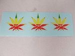 Sticker: Triple Leaf