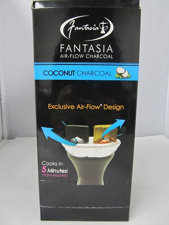 Fantasia Coconut Charcoal 10pack Display