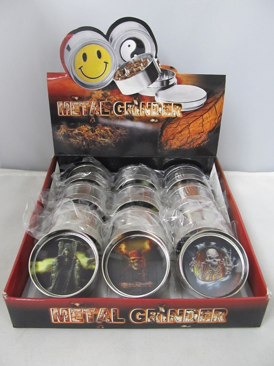 The Reaper 3 Part Grinder Mix Designs 12ct Display