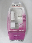 Iphone 4 - 3 IN 1 Rapid Car Charger