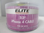 3.3FT IPHONE 4 Cable 24CT