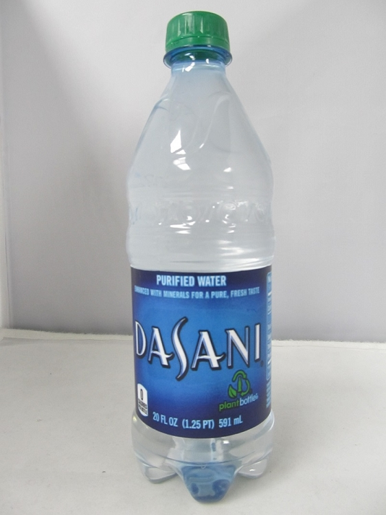 Dasani Purified Water Screw Stash Bottle