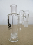 Diamond Glass 19mm 90 degree Recycler Showerhead Perc Stem Ash Catcher