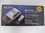 Weigh Max W-CT 20g 0.001g Stainless Steel Platform