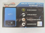 Weigh Max W-NJ 650g 0.1g Ninja Blue
