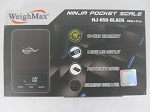 Weigh Max W-NJ 100g 0.01g Ninja Black