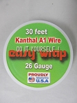 Easy Wrap 26 Gauge Kanthal A1 Wire 30Feet