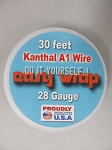 Easy Wrap 28 Gauge Kanthal A1 Wire 30Feet