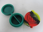 Silicone Jar w/ 2 Compartment