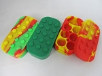 Lego Style Silicone Block w/ 7 Compartments