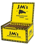 JM's Dominican Toro 50 Cigars Box