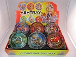 Tattoos Small Ashtrays 6CT Display