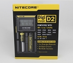 Nitecore Digital Intelligent Lithium Ion Double Battery Charger D2