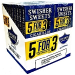 Swisher Sweets Cigarillos 5For3 Blueberry 20/5 Pack