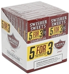 Swisher Sweets Cigarillos 5For3 Sweet 20/5 Pack