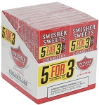 Swisher Sweets Cigarillos 5For3 Strawberry 20/5 Pack