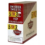 Swisher Sweets Tip Cigarillos 5For3 10/5 Pack