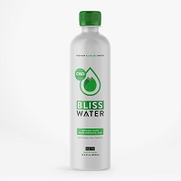 Bliss Organic CBD Alkaline Water Master Case 24ct-16 fl oz Bottle