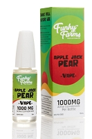 Funky Farms Apple Jack Pear 1000mg CBD Vape Juice 15ml