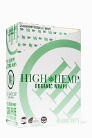 High Hemp Organic CBD Blunt Wraps 25ct